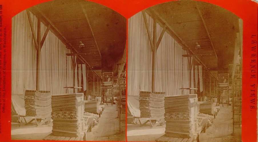 Hanging room, Pacific Mills