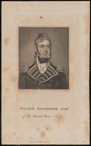 William Bainbridge Esqr. of the United States Navy