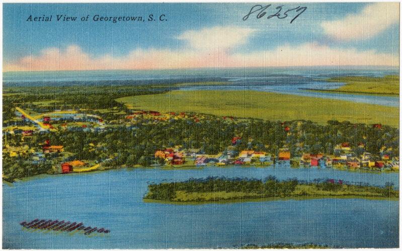 Aerial view of Georgetown, S. C.