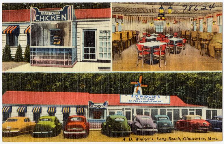 A.D. Widger's, Long Beach, Gloucester, Mass.
