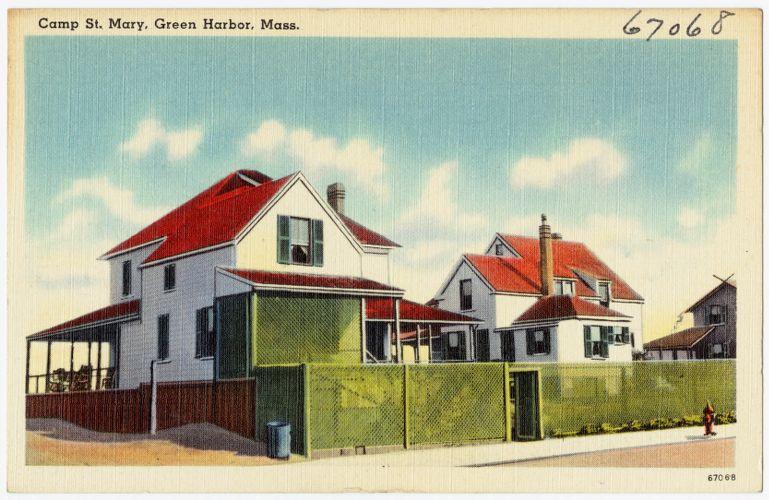 Camp St. Mary, Green Harbor, Mass.