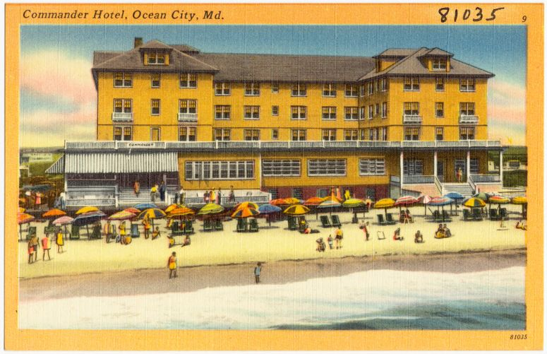 Commander Hotel, Ocean City, Md.