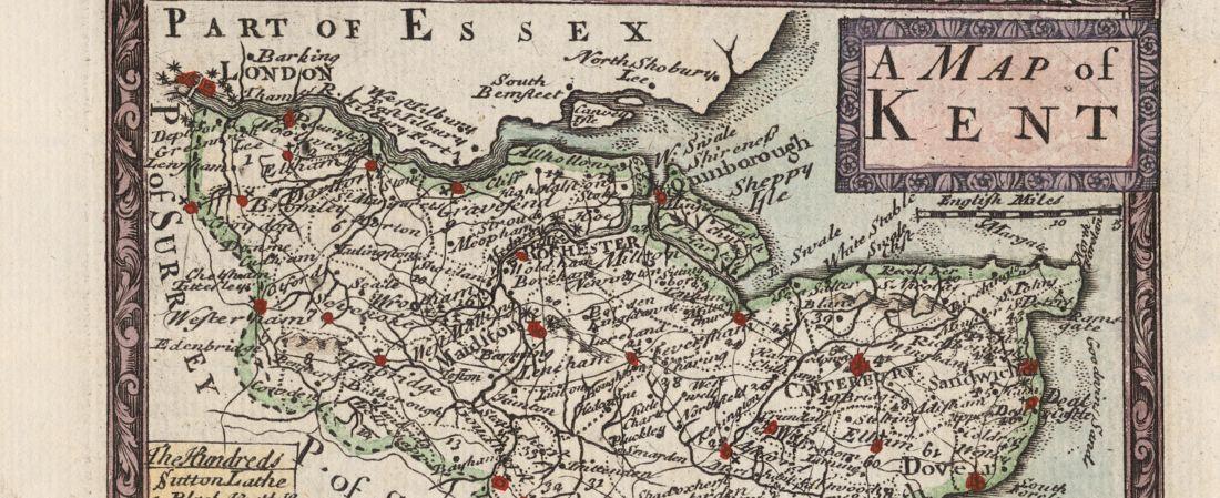 A map of Kent