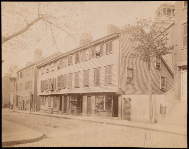 Wells House, Salem Street, North End