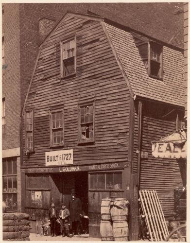 Thoreau House, Prince St. 1727-