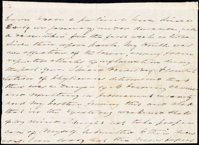 Charles Fenno Hoffman autograph letter, [1849?]