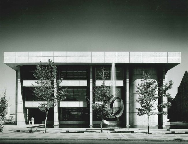 Lawrence Public Library, exterior