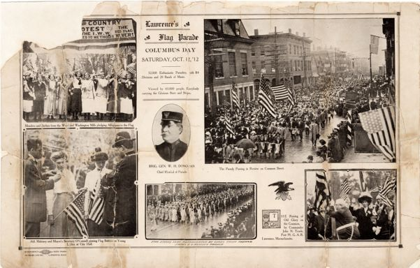 Lawrence's Flag parade