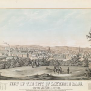 Lawrence, Mass. Lithograph