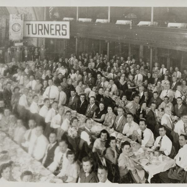 American Turners 42nd annual national convention banquet Sept. 3, 1948 Lawrence, Mass. held at Turn Hall
