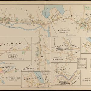 New Topographical Atlas of Worcester County