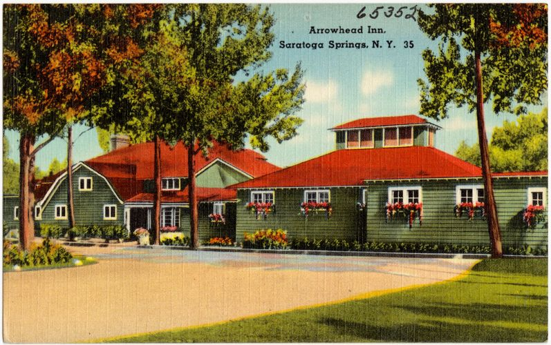 Arrowhead Inn, Saratoga Springs, N. Y.