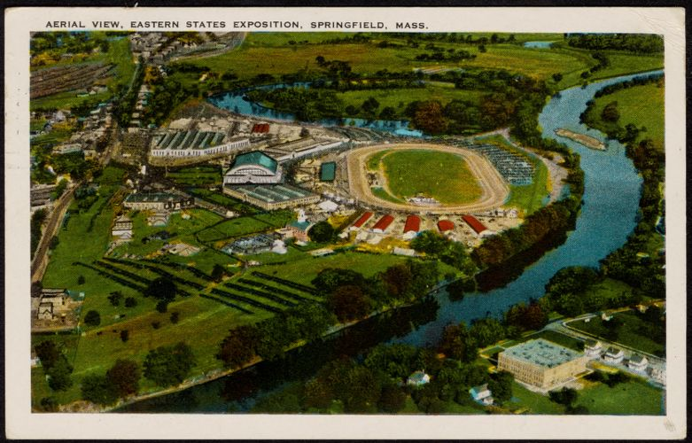 Aerial view, Eastern States Exposition, Springfield, Mass.