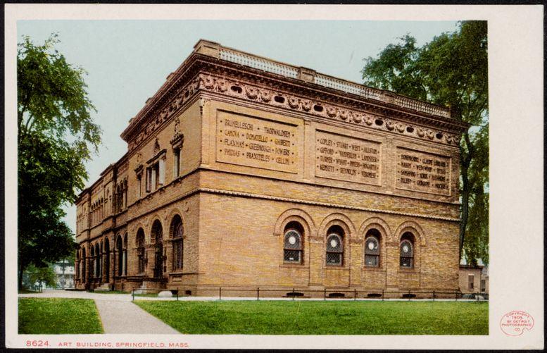 Art building, Springfield, Mass.
