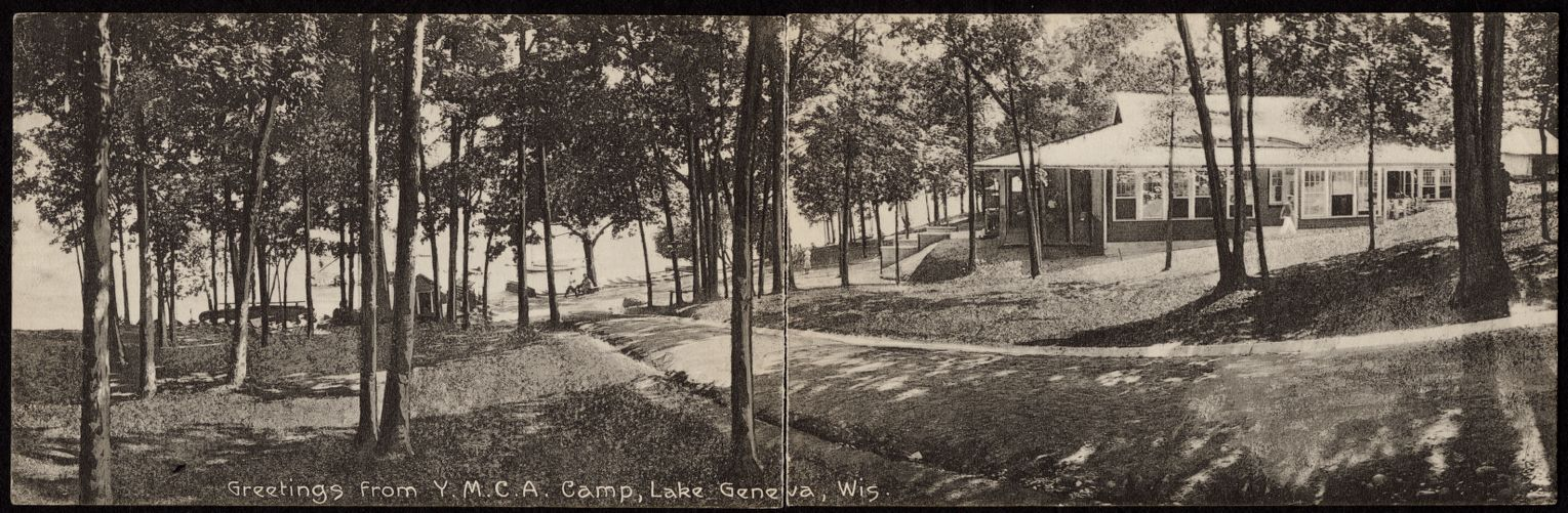 Greetings from Y.M.C.A. Camp, Lake Geneva, Wis.