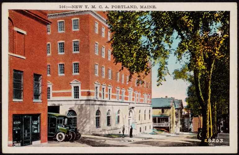 106. New Y.M.C.A. Portland, Maine
