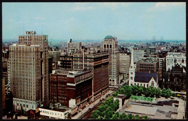 301 - Skyline view, Philadelphia, Pa.