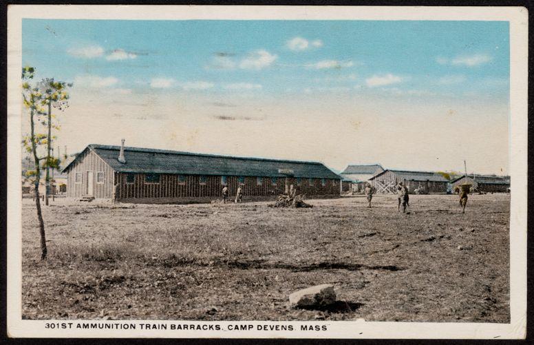 301st Ammunition Train Barracks, Camp Devens, Mass