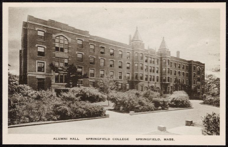 Alumni Hall Springfield College Springfield, Mass.