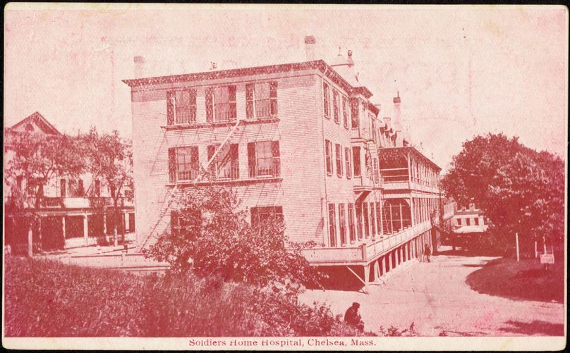 Soldiers Home Hospital, Chelsea, Mass.