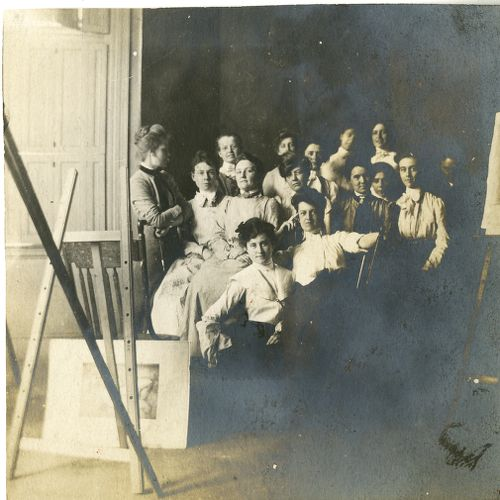 Unknown group of students