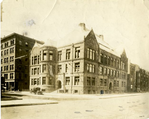 Massachusetts Normal Art School, Newbury Street Campus