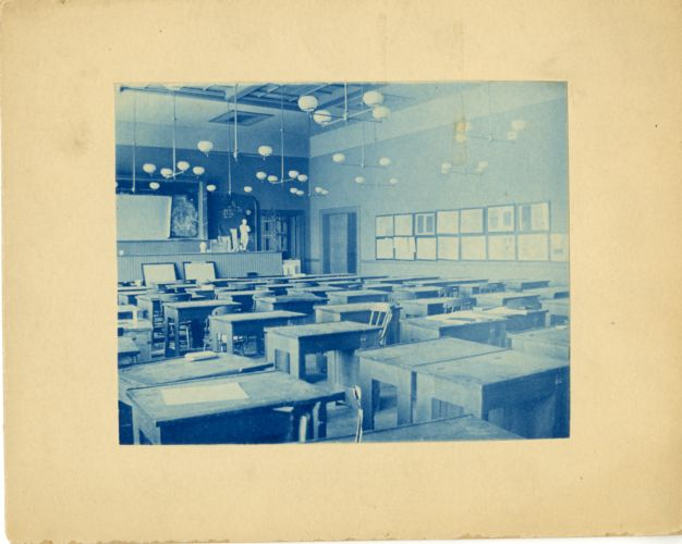Class A lecture room, Newbury Street Campus