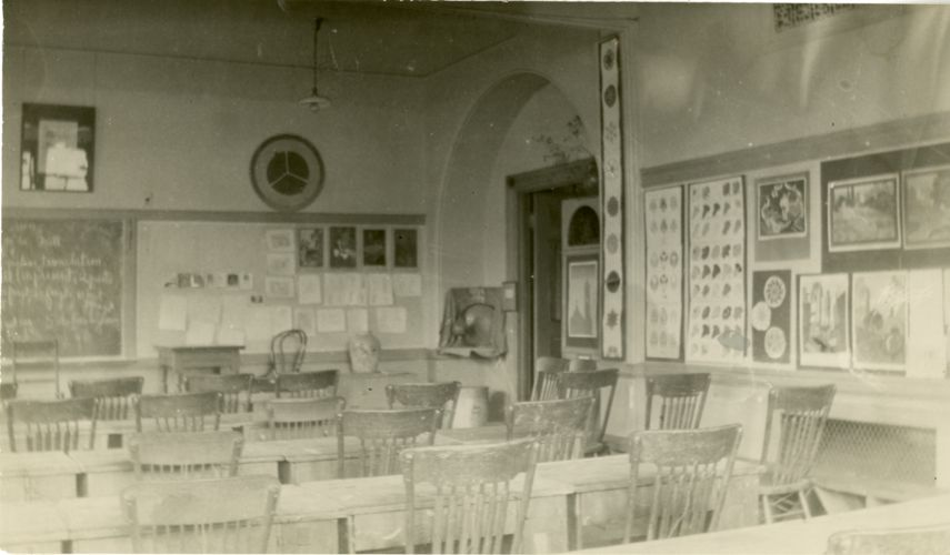 Anna M. Hathaway's design studio, Newbury Street Campus