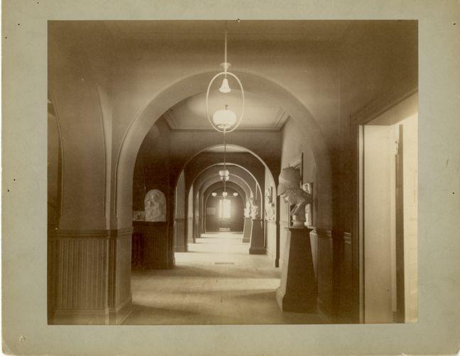 Corridor, Newbury Street Campus
