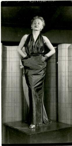 Woman modeling dress
