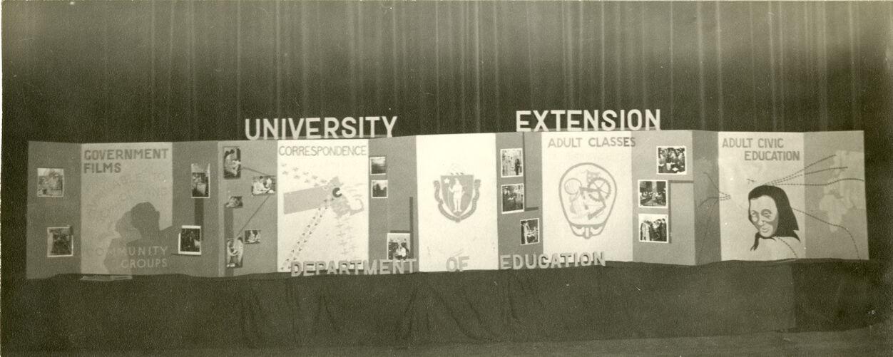 Department of Education display