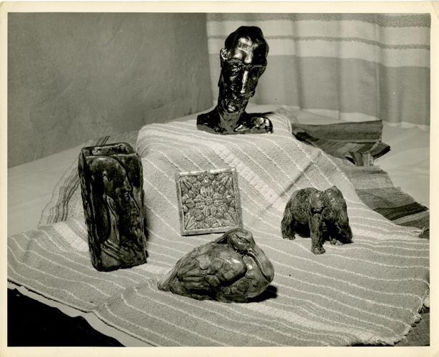 Samples of ceramic work