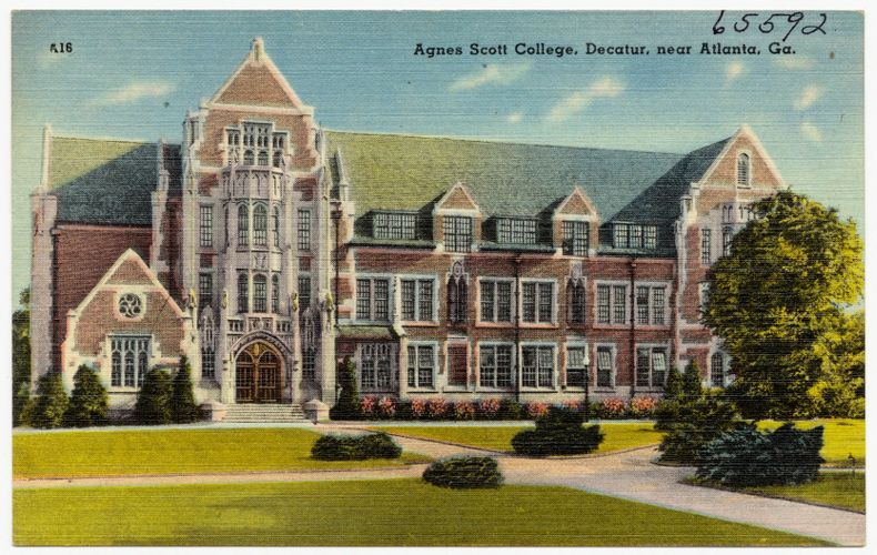 Agnes Scott College, Decatur, near Atlanta, Ga.
