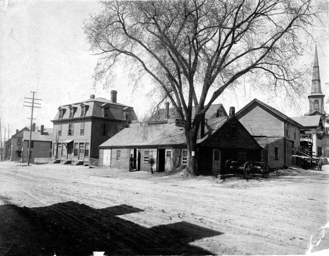 Antipas Jackson's blacksmith shop.