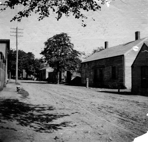 Buildings on Watertown Street.