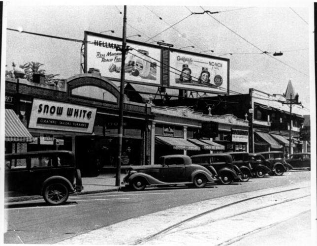 Mt. Auburn Street, circa 1930's.