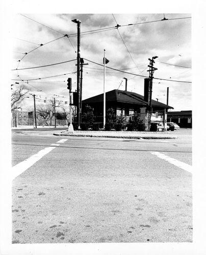 MBTA station house Galen Street.