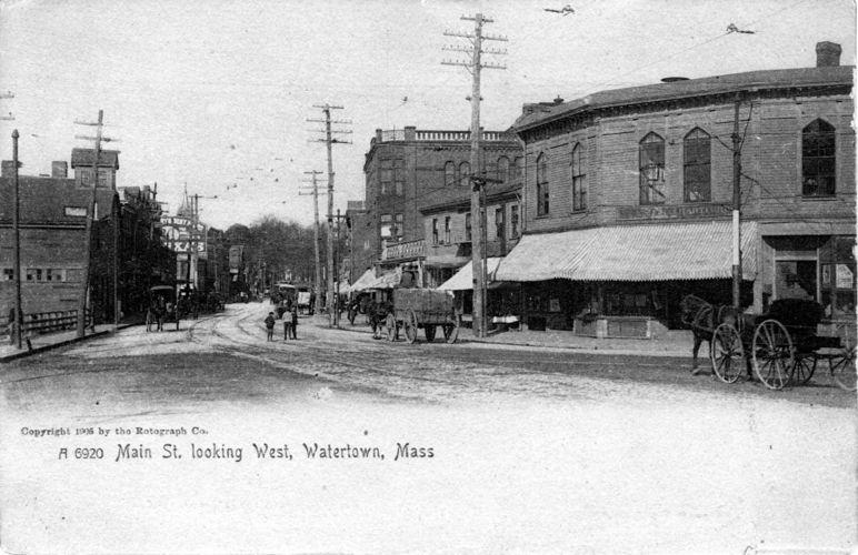 Main Street looking west.