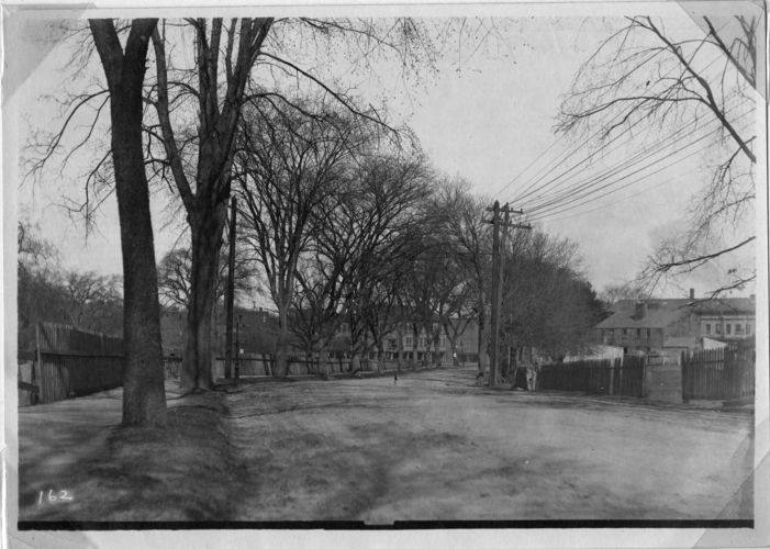 Watertown Street looking toward Galen Street Bridge.