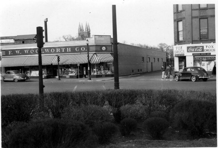 F. W. Woolworth, Watertown Square.