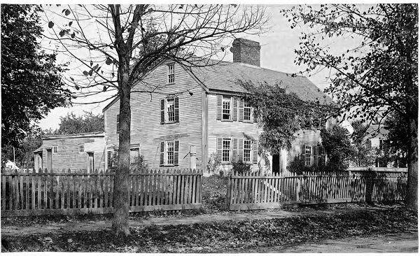 Old Parsonage on Mount Auburn Street.
