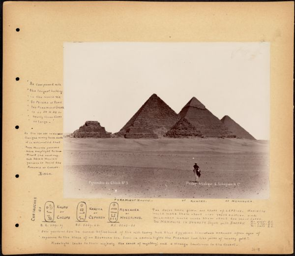 Lower Egypt. Pyramids