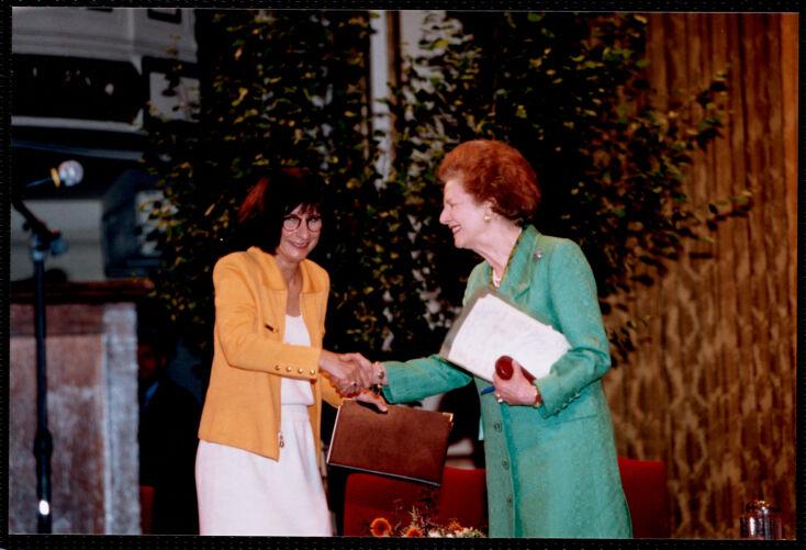 Margaret Thatcher visit 06/24/1998