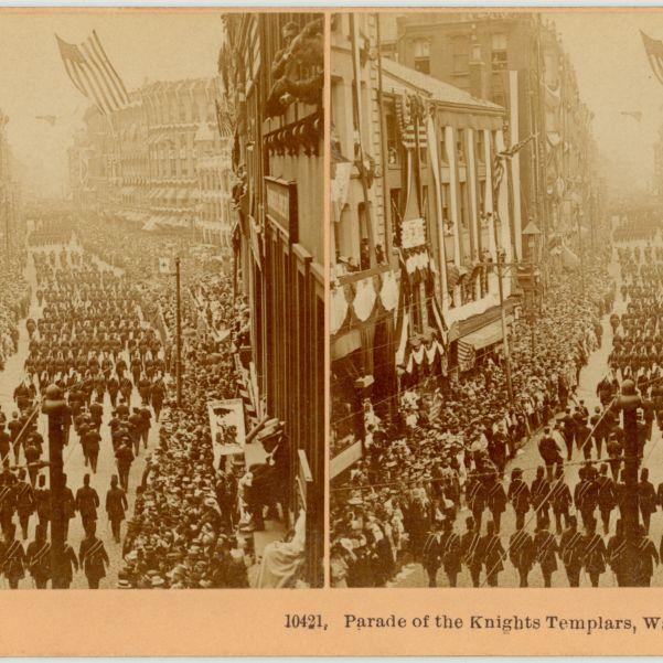 Parade of the Knights Templars, Washington St., Boston, '95