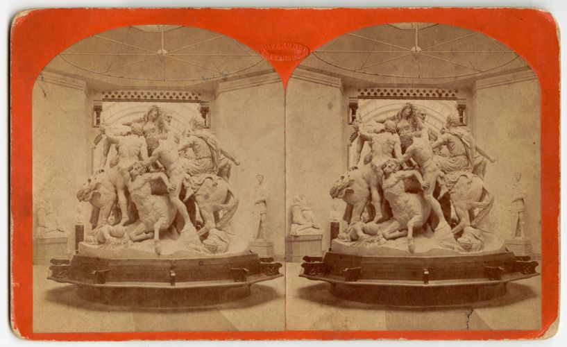 Academy of Fine Arts. Battle of the Centaurs and Lapithae from original