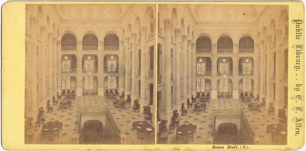 Bates Hall, (2)