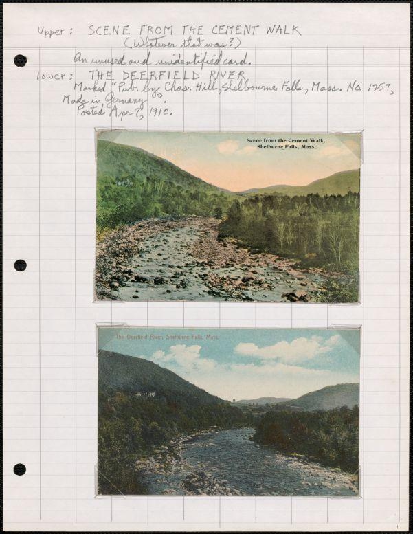 Shelburne Falls, Massachusetts, and Shelburne, Massachusetts