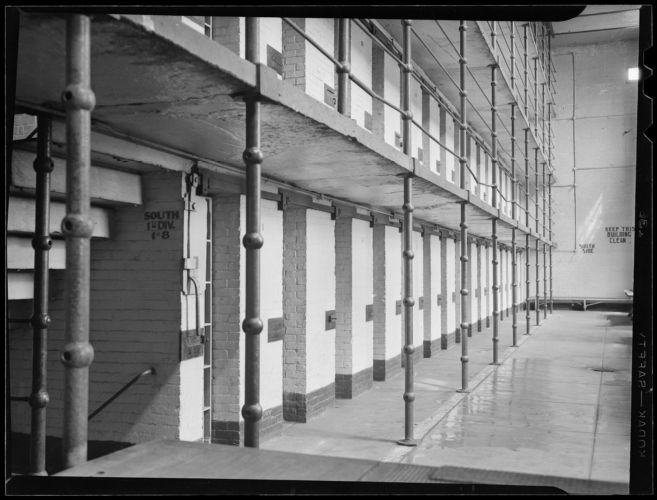 Cell block, Charlestown State Prison