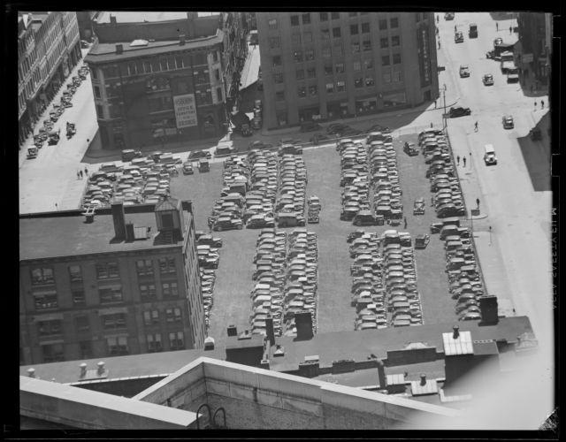 Parking lot, Congress St.