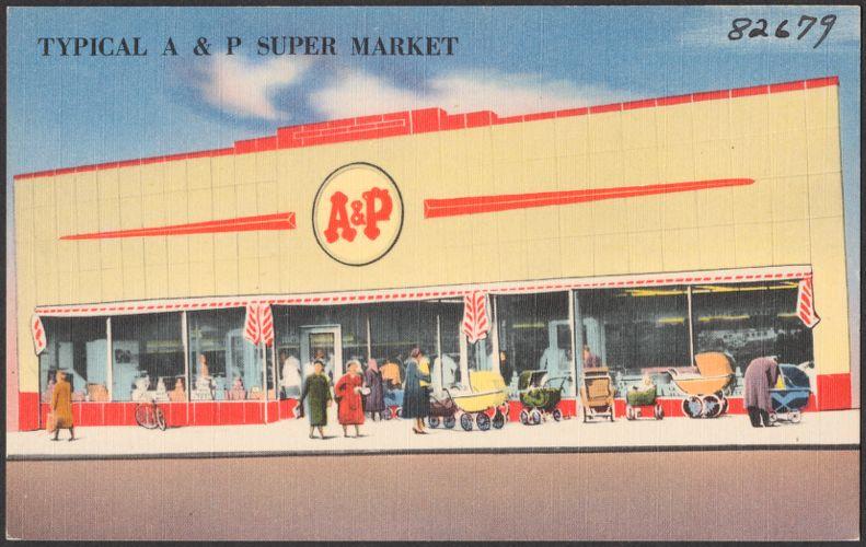 Typical A & P super market